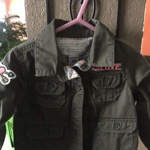 Carter's Girl jacket size 24m